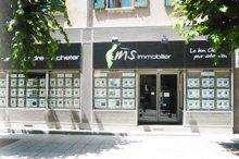 Nouvelle façade de MS Immobilier