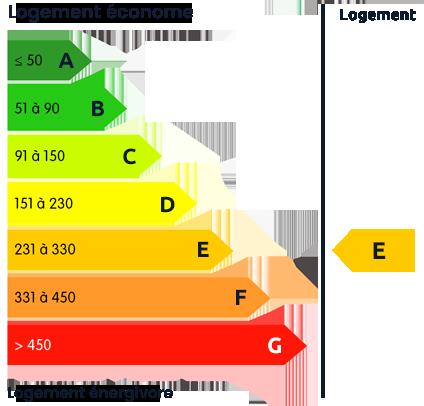 DPE Energie : E